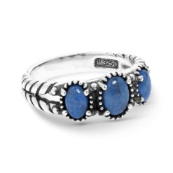 Sterling Silver Blue Lapis Ring