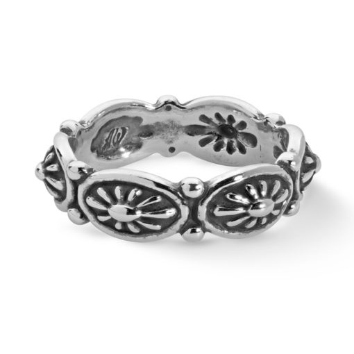 Sterling Silver Concho Ring