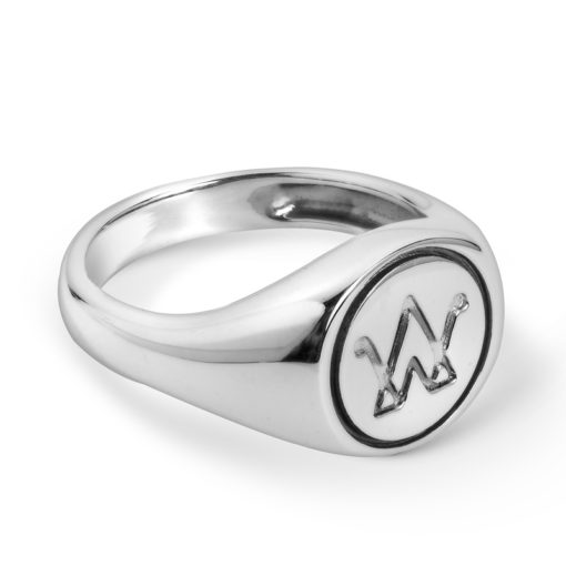 Sterling Silver American West Signet Ring